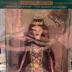 Barbie collectors edition: princess of Ireland.